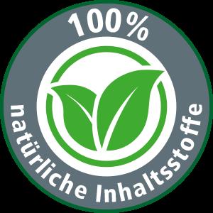 100% natürliche Inhaltsstoffe